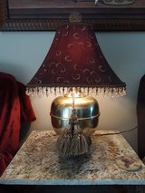 One pair of brass lamps in Kingwood, Texas