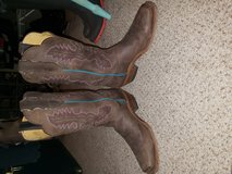 Justin cowboy boots in Fort Lewis, Washington