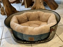 Dog Bed With Metal Liner in Ramstein, Germany