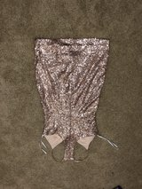 Rose gold sequin dress in Leesville, Louisiana