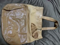 Soft leather Anne Taylor tote in Okinawa, Japan