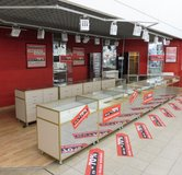 Locking Jewellery Presentation Counters in Ramstein, Germany