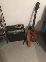 epiphone les Paul, aux, amp, tuner in Ramstein, Germany