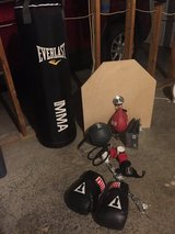Boxing gear in Fort Campbell, Kentucky