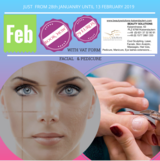 FACIAL WITH SKIN ANALITIC & PEDICURE in Ramstein, Germany