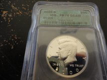 2000 s silver perfect proof 70 deep cameo kennedy in Fort Campbell, Kentucky