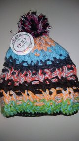Boho winter hat in The Woodlands, Texas