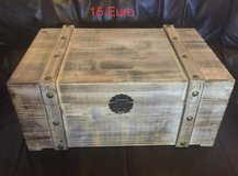 Decorative Wooden Chest in Ramstein, Germany