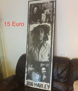 Tall Bob Marley Poster in Ramstein, Germany
