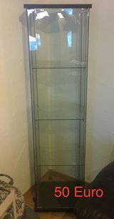 Tall Glass Display Case in Ramstein, Germany