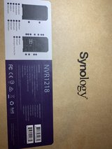 Synology NVR1218 NAS and security camera recorder in Okinawa, Japan