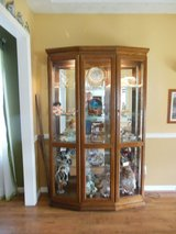 LIGHTED CURIO CABINET in Fort Benning, Georgia
