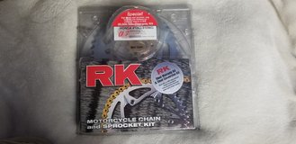 rk motorcycle chain and sprocket kit in Naperville, Illinois