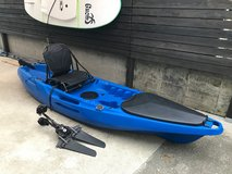 Solo Pedal Powered Fishing Kayak in Okinawa, Japan