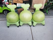 Ball chairs in Nellis AFB, Nevada