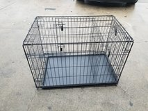 Double door medium dog cage in Fort Riley, Kansas