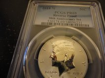 2014w pr69 reverse proof 50th anniversary kennedy half dollar in Fort Campbell, Kentucky