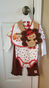 Girls Thanksgiving Outfit, Size 9M in Fort Campbell, Kentucky