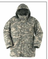 Camo goretex light weight New Parka XL in Fort Leonard Wood, Missouri