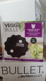 New in Box Veggie Bullet with accessories in Shorewood, Illinois