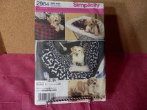 B.N. Simplicity Pattern  #2984  Dog Items in Joliet, Illinois