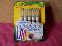 Crayola Washable Tr-Color Markers in Chicago, Illinois