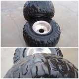 2 ATV Tires with Rims AT 21 x 10-8 in Yucca Valley, California
