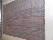 Blue and Multi-Color Wool Rug-5 ft 4 x 8 ft in Plainfield, Illinois