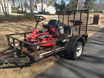 We Haul Mowers for You in Warner Robins, Georgia