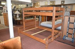 Twin Over Full Bunk bed Frame with bunkie boards in Fort Lewis, Washington