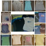 Work out tops and different brand tshirts-medium in Camp Pendleton, California