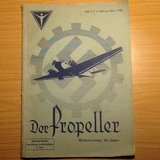 Der Propeller 1936 - Made Only for Junker Factory Workers in Ramstein, Germany