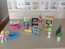 Doll house dolls and furniture in St. Charles, Illinois