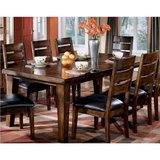 Signature Design by Ashley Larchmont Dining Room Extension Table w/8 Chairs in Camp Lejeune, North Carolina