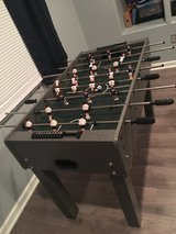 Foosball table in Fort Bragg, North Carolina