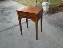 Tall, antique Entry way table in Kingwood, Texas