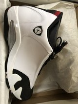 "Jordan Retro 14 ""black toe"" in Okinawa, Japan"