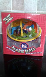Maze ball puzzle game in Lakenheath, UK