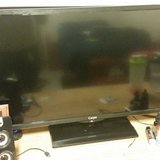 32 inch TV with remote. 220V in Ramstein, Germany