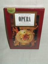 Dining and The Opera in Manhattan Menus & Music Cookbook & CD's NEW in Bolingbrook, Illinois