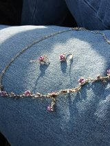 earrings and necklace in Leesville, Louisiana