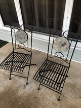 Outdoor Wrought Iron Porch Chair Set in Fort Leonard Wood, Missouri