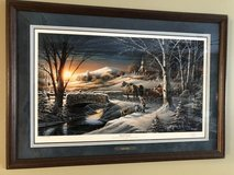 "Terry Redlin ""Almost Home"" Signed Print in Chicago, Illinois"