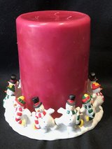 Partylite Frolicking Frostys 3-Wick Candleholder Set in Chicago, Illinois