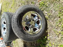 """Dodge rims 17"""" in Cleveland, Texas"""