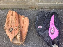 Mitts/ Baseball/Softball One mans, One womans in Okinawa, Japan