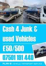 JUNK-SCRAP ur Vehicle with us! Towing services available in Lakenheath, UK