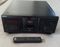 Sony 300-Disc MegaStorage CD Changer in Okinawa, Japan