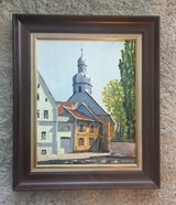 "22"" x 26"" church Kaiserslautern - oil painting in Ramstein, Germany"