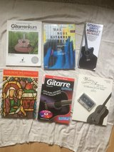 30 guitar books + CDs DVDs in Ramstein, Germany